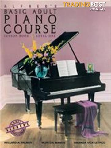 Alfred's Basic Adult Piano Course Lesson Books