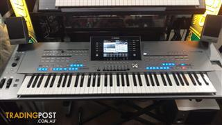 Yamaha TYROS 5-76 Note Digital Workstation  Ex-Demo Stock.