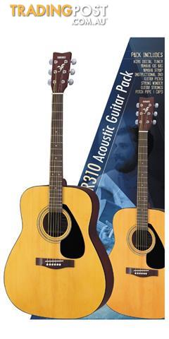 Yamaha Gigmaker F310 Acoustic Guitar Pack