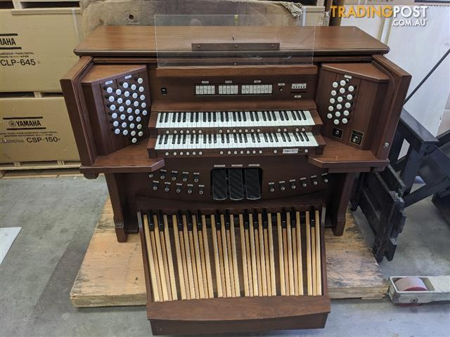 Classical Organ Shell - Two manual -  32 note AGO pedal board