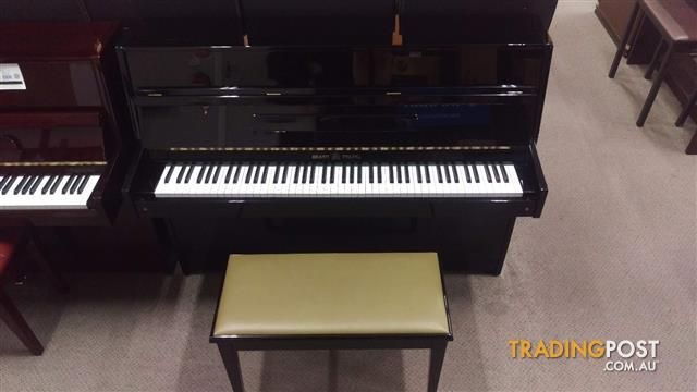 Brash Paling  108cm Upright Piano Polished Ebony WE-41 (Made by Young Chang)