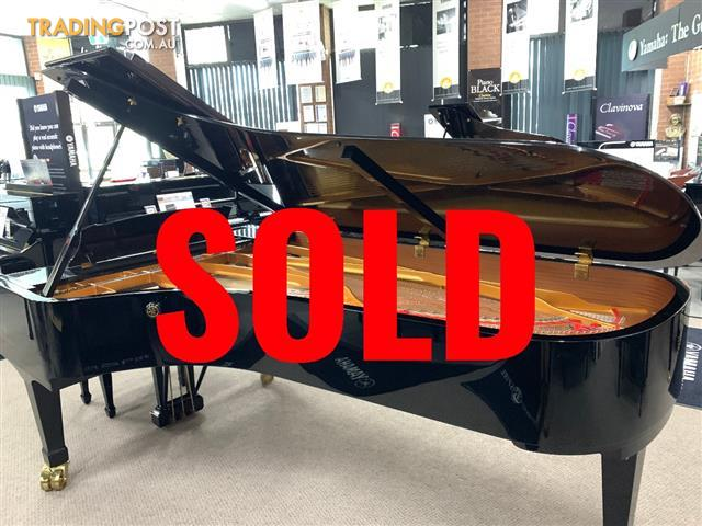 Yamaha Concert Grand Piano CFIII S ~ NOW SOLD
