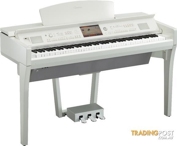 Yamaha Clavinova CVP709PWH Polished White Digital Piano