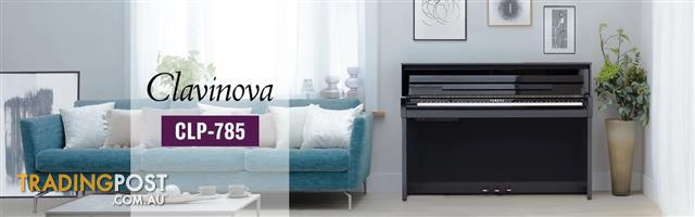 Yamaha Clavinova Digital Piano - CLP785 New in Black