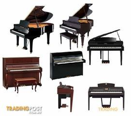 PIANOS LOTS Of THEM HERE IN MELBOURNE