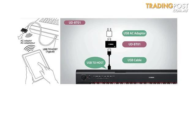 UD-BT01 Set your music free with wireless MIDI connectivity