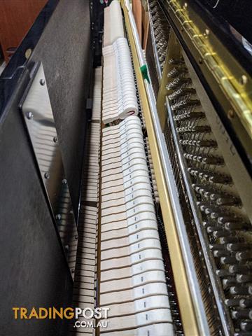 Yamaha U1 J 121cm Upright Piano Ebony Polished (2015)