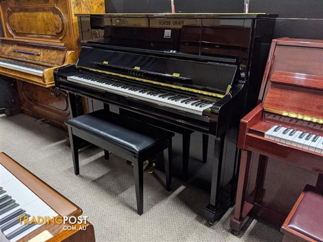 Yamaha U1 J 121cm Upright Piano Ebony Polished (2015)