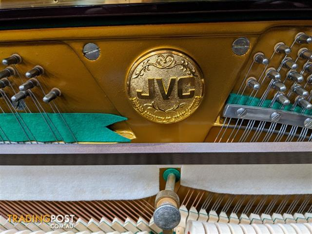 JVC ~ 127 cm Professional Deluxe Upright Piano Mahogany Polished #16731704~ Made in Japan ~