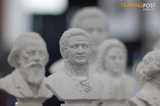 Mozart Bust - 15cm