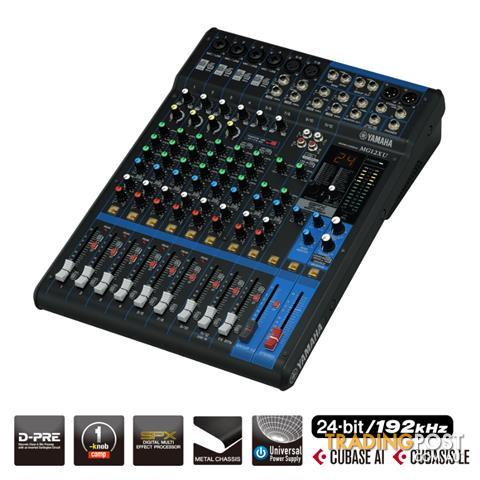 Yamaha MG12 12-Channel Mixing Console PA