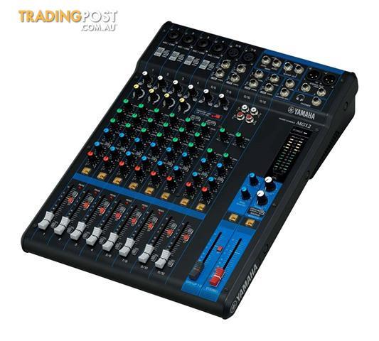 Yamaha MG12 12-Channel Mixing Console PA