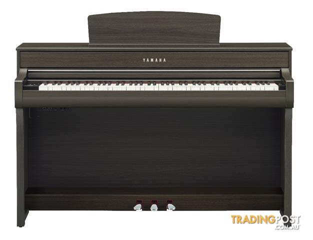 Yamaha Clavinova Digital Piano - CLP745 New - Black - Dark Rosewood - Dark Walnut - White -