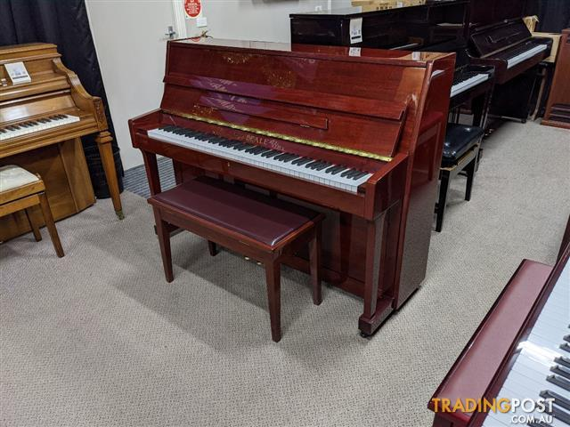 Beale 108M Upright Piano Mahogany Polished #631386