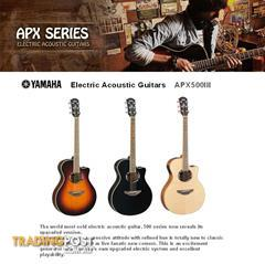 Yamaha Electric Acoustic Guitars APX 500 III series