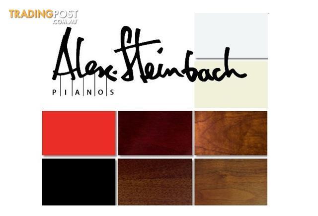 Alex Steinbach Recital II ( JS125 SMD) 125cm Upright Piano