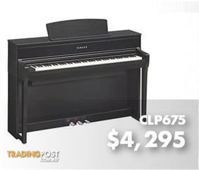 Yamaha Clavinova Digital Piano CLP675 - Black