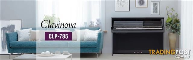 Yamaha Clavinova Digital Piano - CLP785 New in Polished Ebony