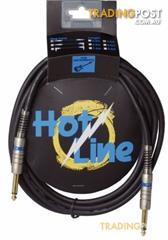HOT LINE - 10'JACK TO JACK GUITAR LEAD