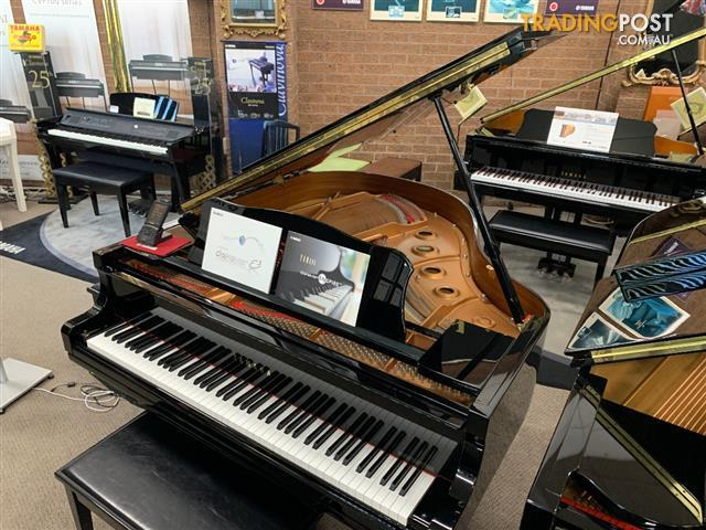 Yamaha Grand Piano 161cm Polished Ebony with Disklavier & Silent Piano technology DGC1 Mk IV