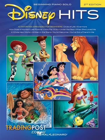 Disney Hits - 2nd Edition (Beginning Piano Solo)