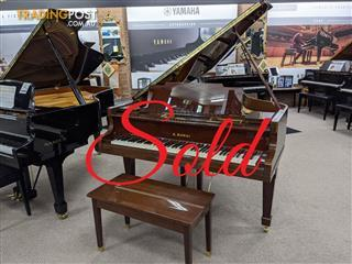 Kawai 180cm Grand Piano No 600  Rich Walnut Polished Finish ~ SOLD ~