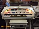 WURLITZER 630TA PRE-LOVED ORGAN - Ivory & Gold