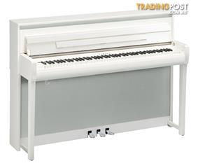 Yamaha Clavinova Digital Piano CLP685 -  Polished White
