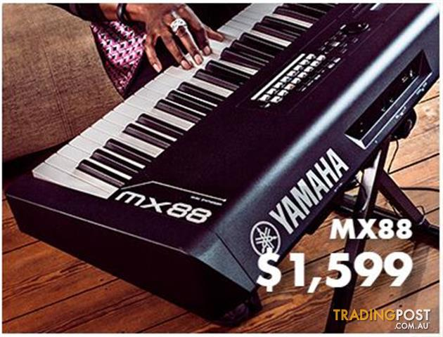 Yamaha MX88 Note Keyboard Synth