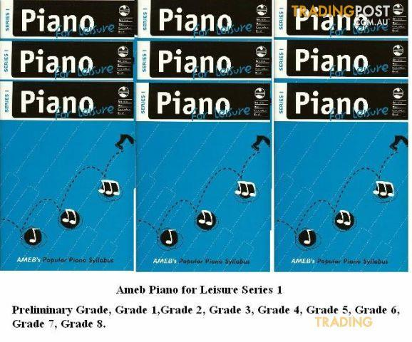 AMEB Piano For Leisure Gr. 3 Series 1