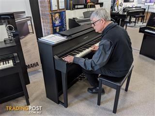 Yamaha Clavinova Digital Piano - CLP775 - Black - Dark Rosewood - Dark Walnut - White