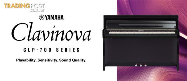 Yamaha Clavinova Digital Piano - CLP775 - Black - Dark Rosewood - Dark Walnut - White