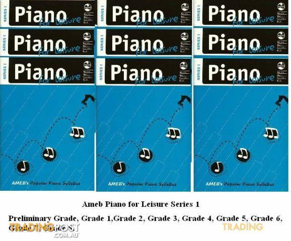 AMEB Piano For Leisure Gr. 7 Series 1