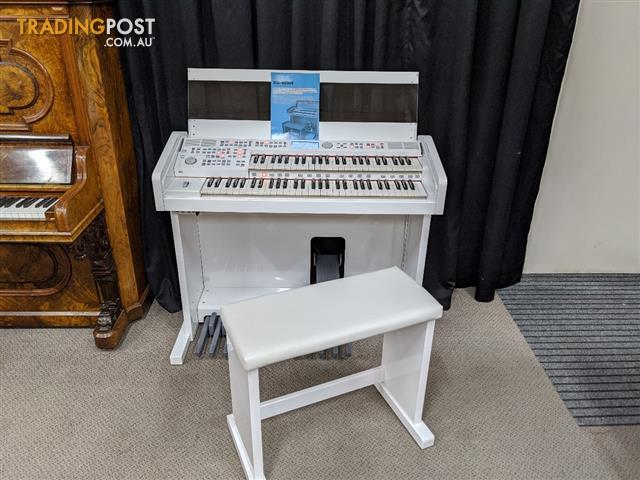 Ringway Electronic Organ RS400H in Polished White