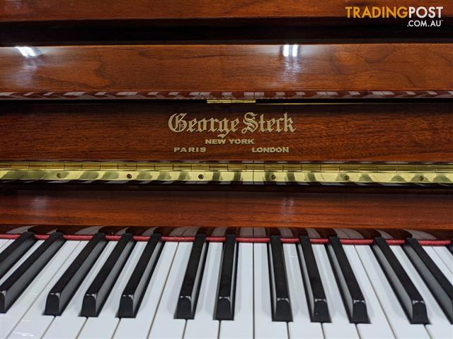George Steck US32T Vertical Piano,132cm Upright Piano in Walnut Polished
