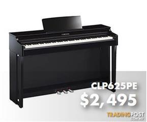 Yamaha Clavinova Digital Piano CLP625 -  Polished Ebony