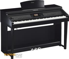 Yamaha Clavinova CVP701PE Polished Ebony Digital Piano ~ CVP700 series
