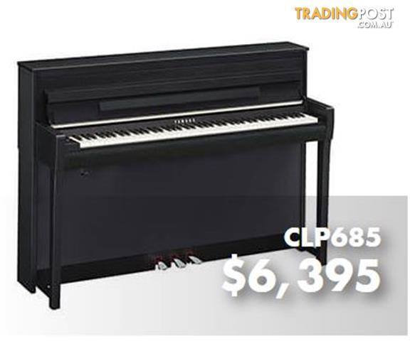 Yamaha Clavinova Digital Piano CLP685 - Black