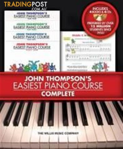 John Thompson's Easiest Piano Course Series