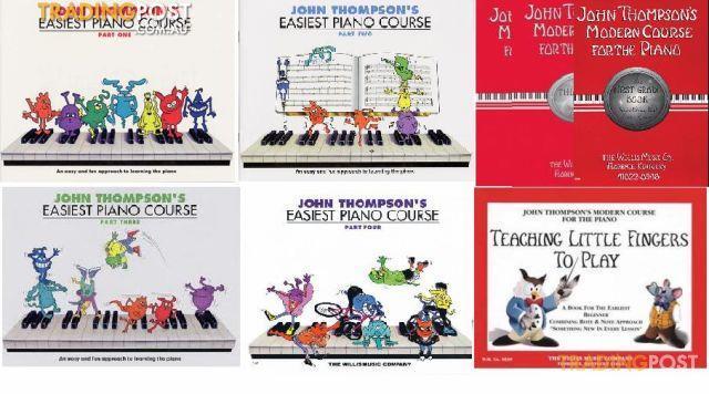 John Thompson's Easiest Piano Course Series