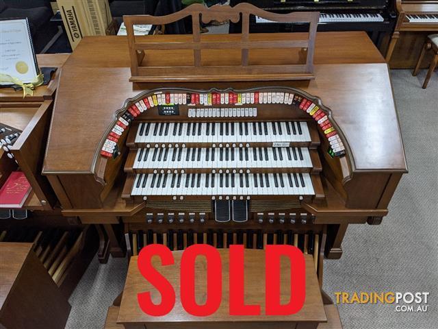 Allen 3 Manual Digital Organ  ~ SOLD ~ MDS-312 ~ Master Design Series