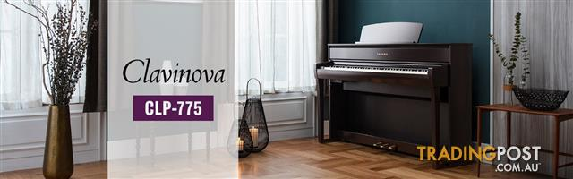 Yamaha Clavinova Digital Piano - CLP775 New in Polished Ebony