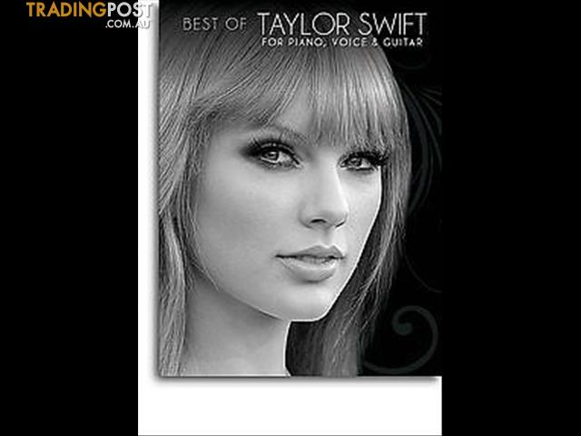 Best Of Taylor Swift (For piano, voice and guitar)