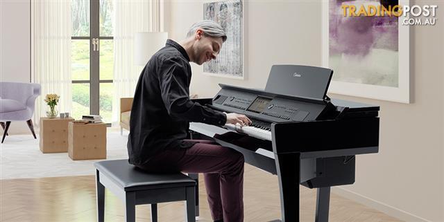 Yamaha Clavinova CVP809Wht Digital Piano CVP800 series