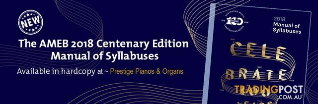 Manual of Syllabuses 2018
