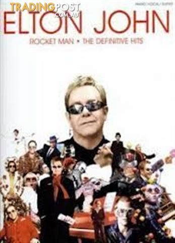 Elton John - Rocket Man . The Definitive Hits (pvg)