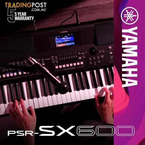 Yamaha Arranger Workstations Keyboard ~The all new PSR-SX600