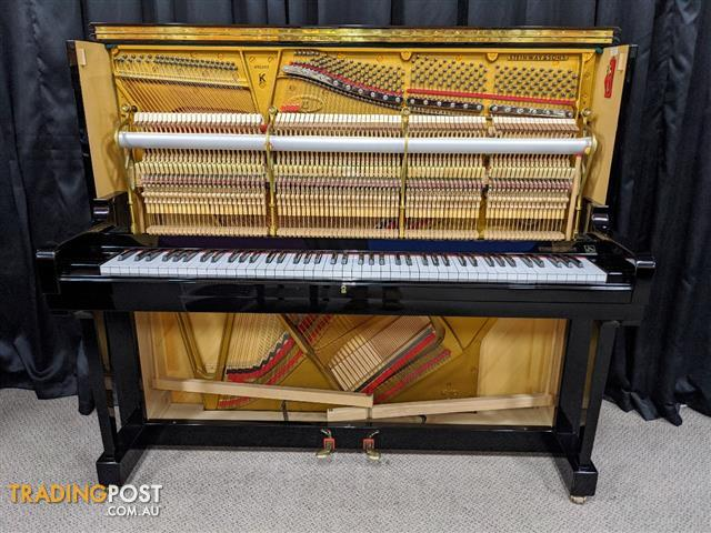 Steinway Upright Piano | NOW SOLD -  Steinway & Sons  Model K vertegrand upright piano in a polished ebony