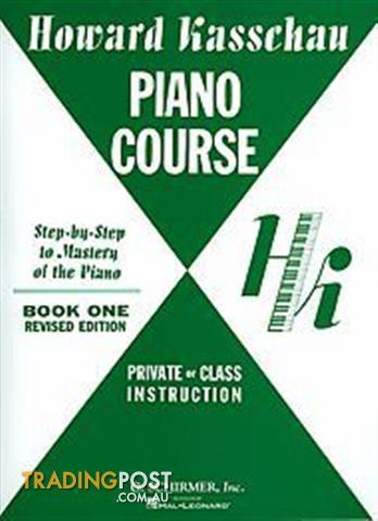 Howard Kasschau Piano Course Teach Me To Play