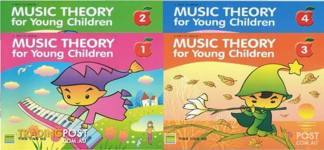 Music Theory for Young Children book 1 to book 4 $16 each